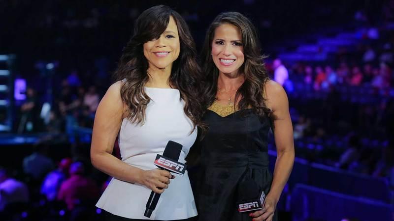 Rosie Perez and Marysol Castro
