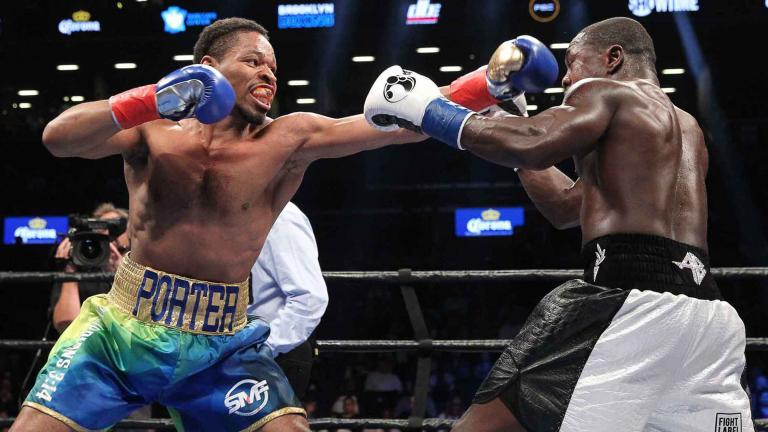 Andre Berto and Shawn Porter