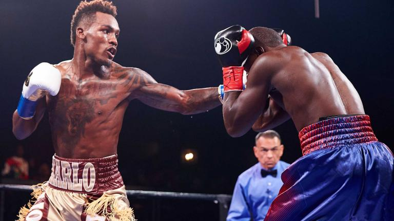 Jermall Charlo and Wilky Campfort