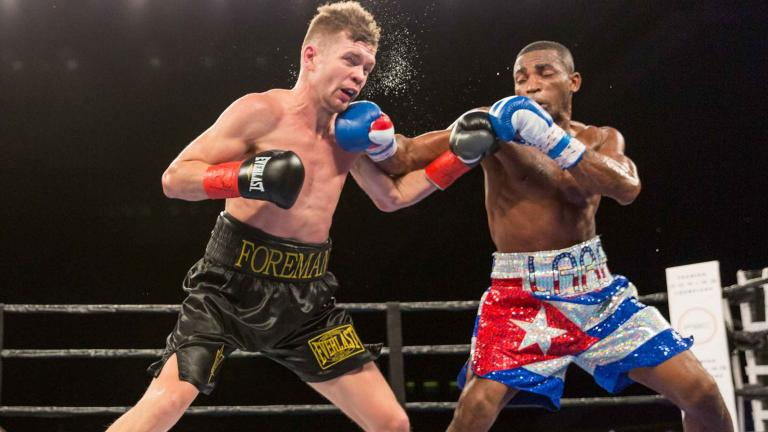 Erislandy Lara and Yuri Foreman