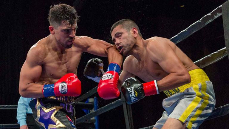Victor Ortiz and Saul Corral