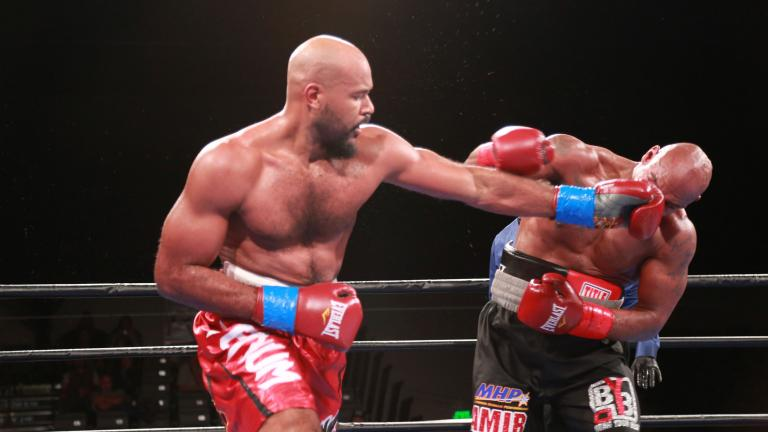 Gerald Washington and Amir Mansour
