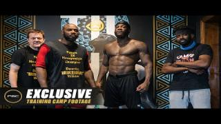 Embedded thumbnail for An EXCLUSIVE Glimpse Into the Training Camp of Deontay Wilder