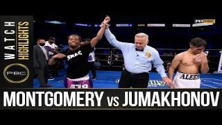 Embedded thumbnail for Montgomery vs Jumakhonov HIGHLIGHTS: September 19, 2021   PBC on FS1