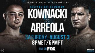 Polish star Adam Kownacki battles Chris Arreola August 3 on FOX