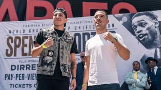 Mario Barrios meets Batyr Akhmedov for WBA 140-LB title Sept. 28 on FOX PPV