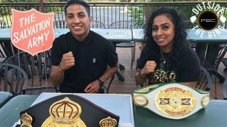 Outside the Ring: Mario Barrios assists Salvation Army in San Antonio