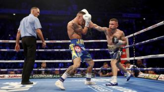 Josh Warrington retains IBF featherweight title with UD win over Carl Frampton