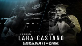 Former 154-pound Champ Erislandy Lara challenges unbeaten Brian Castaño for his WBA title March 2 on Showtime
