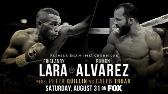 Erislandy Lara meets Ramon Alvarez for interim WBA 154-LB title Aug. 31 on FOX
