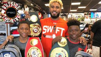 Outside the Ring: Jarrett Hurd gives back to kids and community
