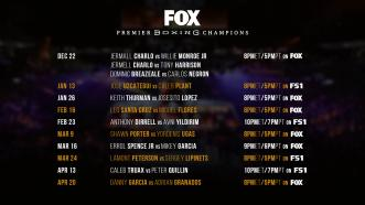 FOX Sports and Premier Boxing Champions announce eight title fights—including Errol Spence Jr. vs Mikey Garcia PPV