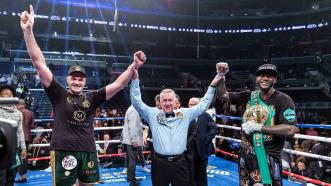 Deontay Wilder and Tyson Fury fight to split-decision draw in epic heavyweight showdown on Showtime PPV