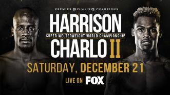 Tony Harrison vs Jermell Charlo 2 goes down Dec. 21 on FOX