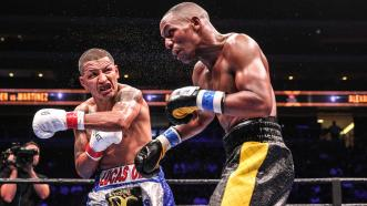 Devon Alexander and Aron Martinez
