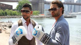 Amir Khan and Chris Algieri