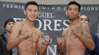 Miguel Flores and Mario Briones