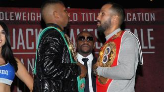 Badou Jack and James DeGale