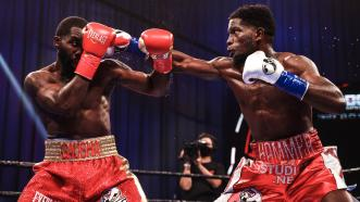 Erickson Lubin Outpoints Terrell Gausha in World Title Eliminator