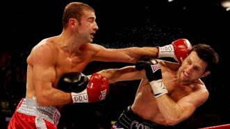 Lucian Bute and Carl Froch