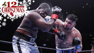 Chris Arreola and Curtis Harper