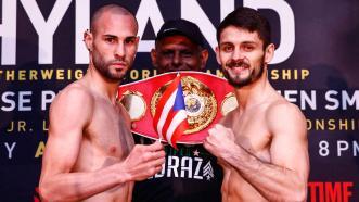 Jose Pedraza and Stephen Smith