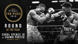 Round 11 of Spence vs Porter earns PBC's Round Of The Year Award for 2019