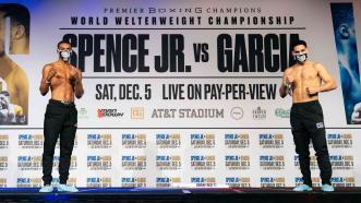 Spence vs. Garcia Weigh-in