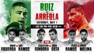 Ruiz Jr. vs Arreola PREVIEW: May 1, 2021   PBC on FOX PPV