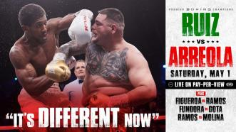 Boxing Fans Can Expect to See a Whole New Andy Ruiz Jr. on May 1st