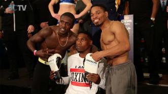 Brooklyn Boxing Exclusive: Berto vs Porter Weigh-In