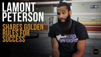 Lamont Peterson Talks Longevity & Success