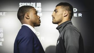 Errol Spence Jr. offers his analysis of Carlos Ocampo