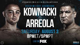Kownacki vs Arreola Preview: August 3, 2019 - PBC on FOX