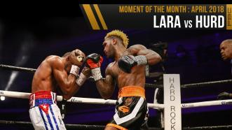 April 2018 Moment of the Month: Lara vs Hurd