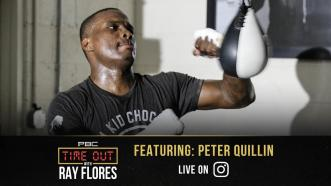 Peter Quillin joins PBC's Time Out with Ray Flores
