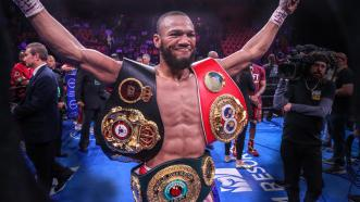 Julian Williams discusses Hurd fight and becoming the new Unified Super Welterweight Champion.