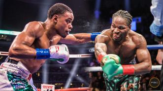Spence and Porter break down each other's fight styles