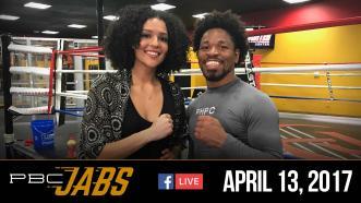 PBC Jabs: April 13, 2017 FB Live Edition