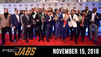 PBC Jabs: November 15, 2018