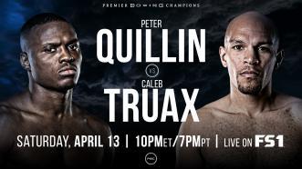 Quilin vs Truax PREVIEW: April 13, 2019 - PBC on FS1