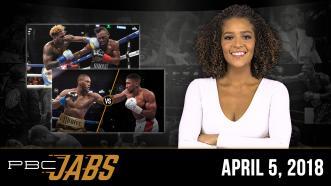 PBC Jabs: April 5, 2018