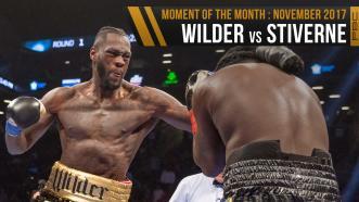 November 2017 Moment of the Month: Wilder vs Stiverne