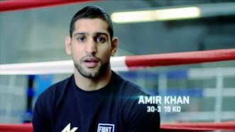 Interview with Amir Khan before his May 29, 2015 fight against Chris Algieri