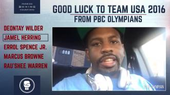PBC Olympians wish good luck