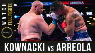 Kownacki vs Arreola - Watch Full Fight | August 3, 2019