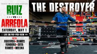 """Andy Ruiz Jr. Tells the Story of How He Became """"The Destroyer"""""""