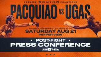 Pacquiao vs Ugas - Post Fight Press Conference