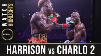 Harrison vs Charlo 2 - Watch Fight Highlights | December 21, 2019