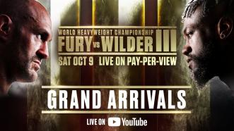 Fury vs Wilder 3 - Grand Arrivals